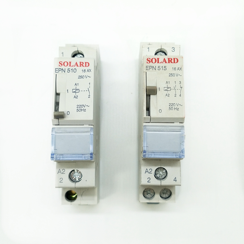 цена на EPN510 Pulse Relay 1NO Self-lock Relay EPN515 1NO 1NC Self-lock Pulse Relay 230V Relay