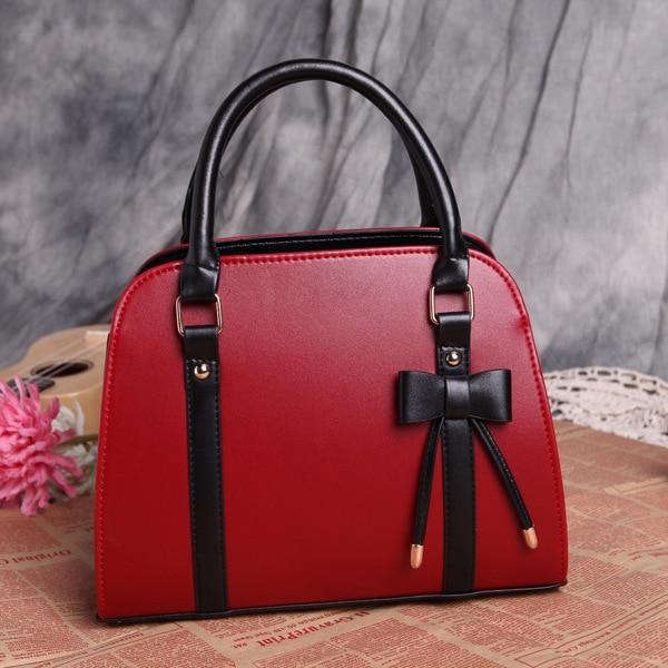 2016 fashion PU women handbags Bow Women Shoulder crossbody bags