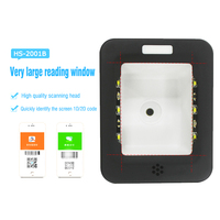 Quickly Scan Mobile Payment Box 1D 2D Barcode Reader For Desktop HS 2001B