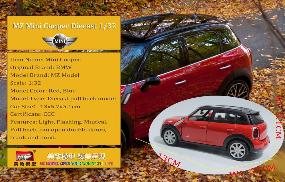 Mini-Cooper-Die-Cast-Car