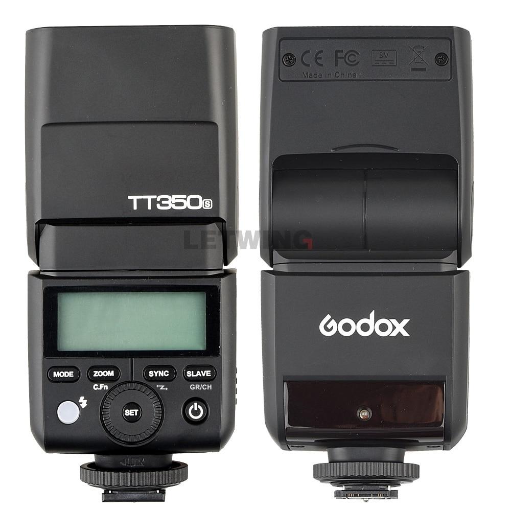 Godox Mini Speedlite TT350S TT350N TT350C TT350O Camera Flash TTL HSS voor Sony Mirrorless DSLR Camera A7s A6000 A6500 Serie - 4