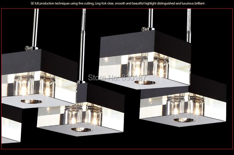 comprar iluminacin de araa de cristal de comedor v v lmpara moderna lustres casa luz led candelabro de lamp car fiable