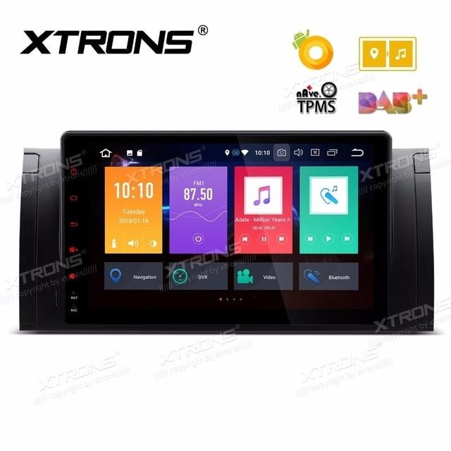 """9 """"Android 8.0 os GPS Car Multimedia Radio para BMW X5 E53 1999-2006 & 1999-2003 & E39 M5 E39 1995-2003 com 4 GB de RAM 32 GB ROM"""