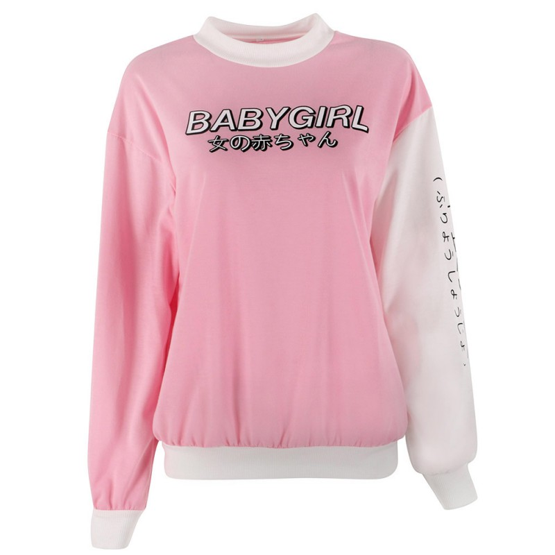 9cb1a0ed8f34 Autumn Winter Women Japanese Harajuku Hoodie Sweatshirt Long Sleeve  Pullover Top
