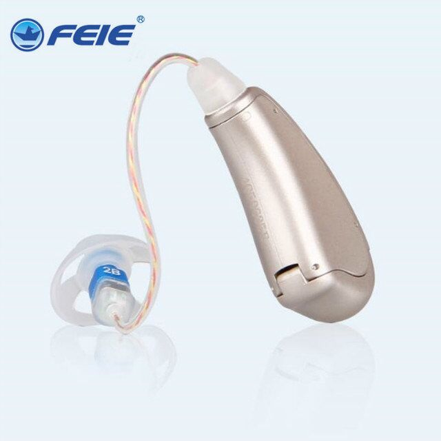 BTE Mini Digital Hearing Aids Assistance Adjustable Sound Amplifier rechargeable Hearing Aid For Deaf People Ear Care MY-19 ear care hearing amplifiers sound enhancement deaf hearing aid amplifier ear aid my 33 digital rechargeable hearing aids