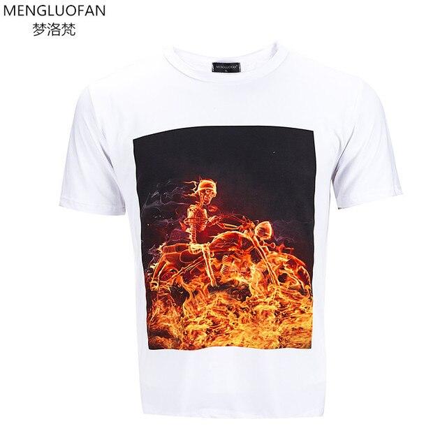 Skeleton Motorcycle Rider T-Shirt - Flyland Designs, Freelance ...