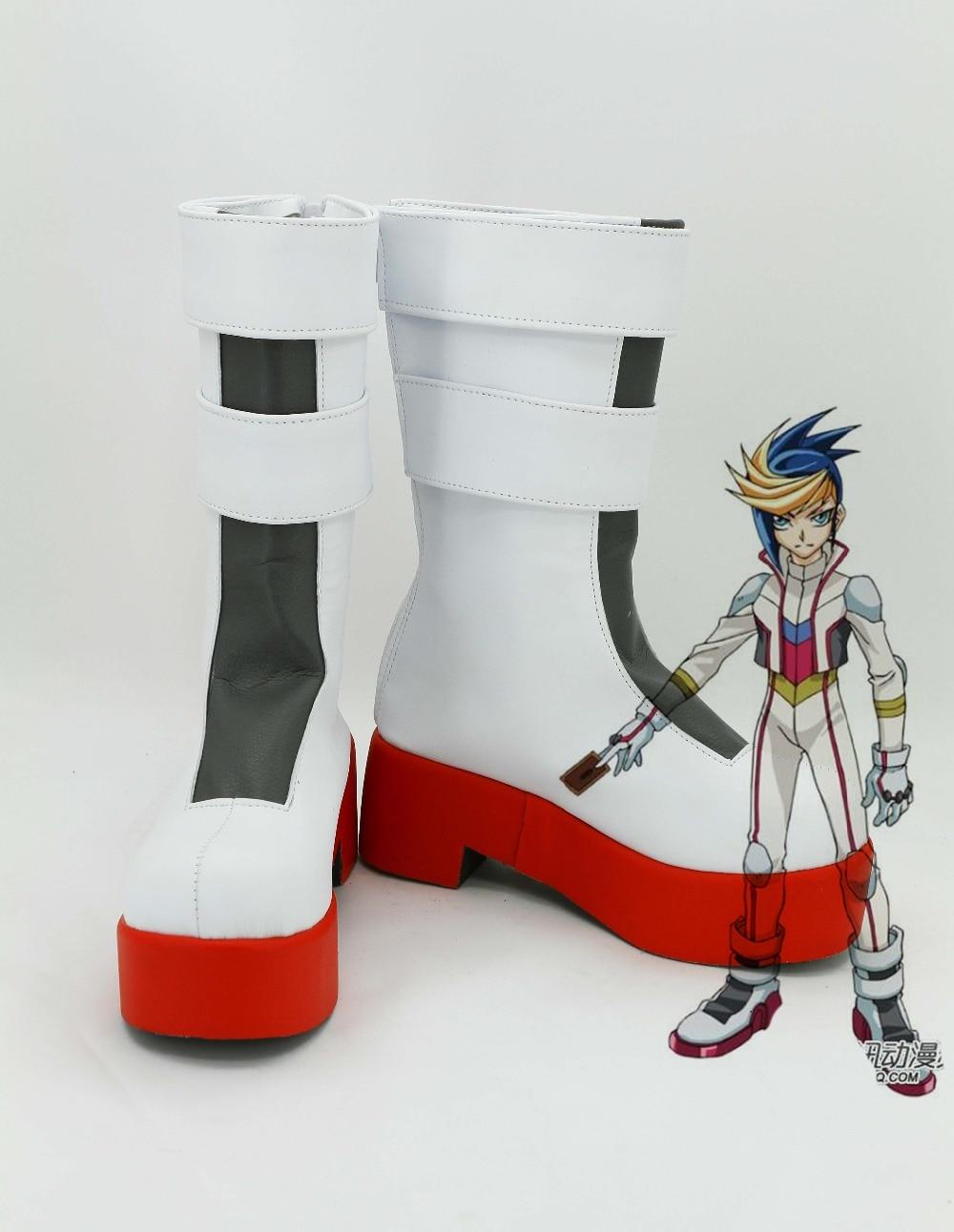 Doeltreffend Arc-v Yu-gi-oh! Hugo Cosplay Laarzen Yugo Anime Schoenen Custom Made Crazy Prijs