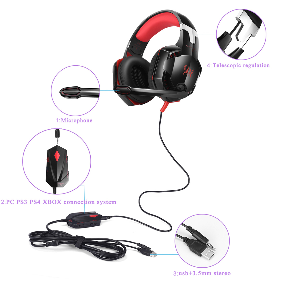 Gaming Headset for ps4 1