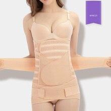 Mulheres Shapewear Barriga Pós-parto Recuperação Belt Tummy Controle Shaper Do Corpo Da Cintura Instrutor Corset BB55