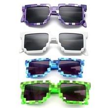 MOONBIFFY 4 цвета! Модные солнцезащитные очки дети играть действие cos игры игрушки квадратные очки подарки для мальчиков и девочек