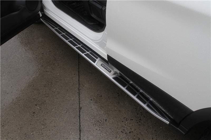 Fit for 2014-2016 Nissan Qashqai Aluminum Side Step Bar Running Board Nerf Bar