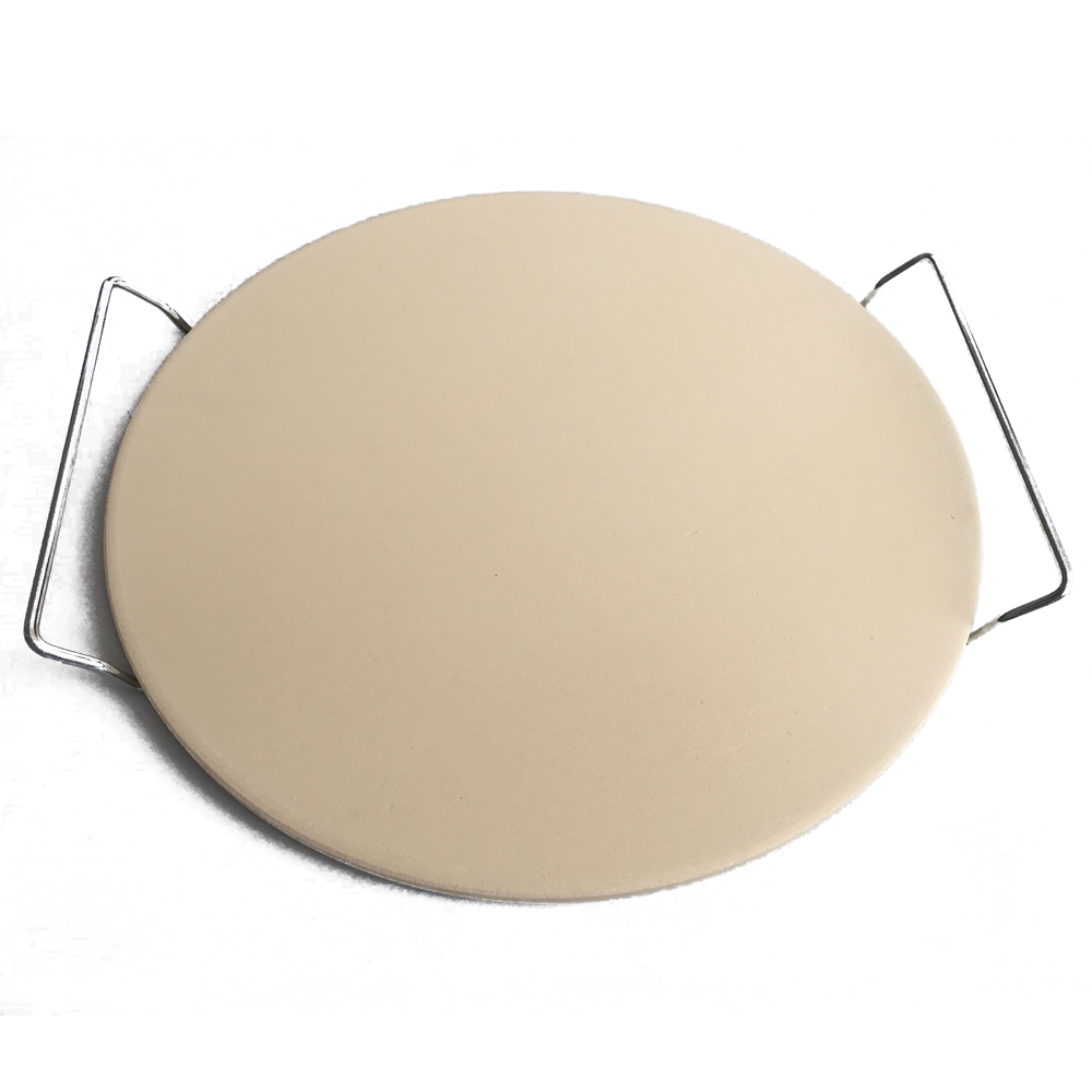 9/11/12/13/15 ''доска из камня для пиццы со стальной ручкой, круглая огнеупорная керамическая изоляционная плита, сковорода для пиццы 9 дюймов, кам...