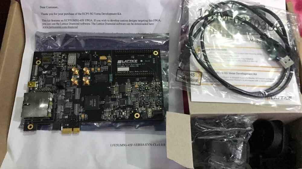 Lattice FPGA Development Board ECP5-5G PCIe LFE5UM5G-45F-VERSA-PROMO