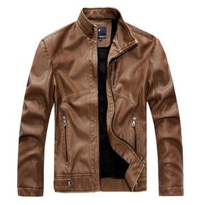 Image 5 - ZOEQO NEW top quality Leather Jacket Men jaqueta de couro masculina mens leather jacket and Coat Motorcycle Jacket