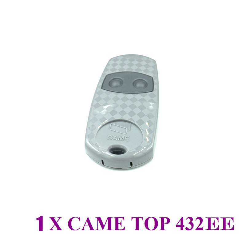 For CAME TOP 432EE Gate door Hand Remote Control Battery include For CAME TOP 432EE Gate door Hand Remote Control Battery include