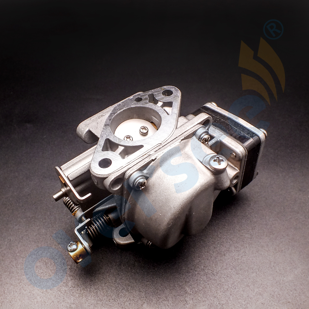 6L5-14301-03 Carburetor Assy For YAMAHA 3HP 2 Stroke Outboard Engine Boat Motor aftermarket parts 6L5 6b4 45501 10 driver shaft long for yamaha 9 9hp 15hp 2 stroke 15d outboard engine boat motor aftermarket parts 6b4 45501