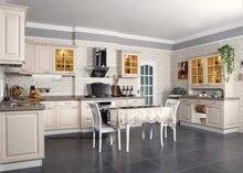 PVC/vinyl kitchen cabinet(LH-PV064)