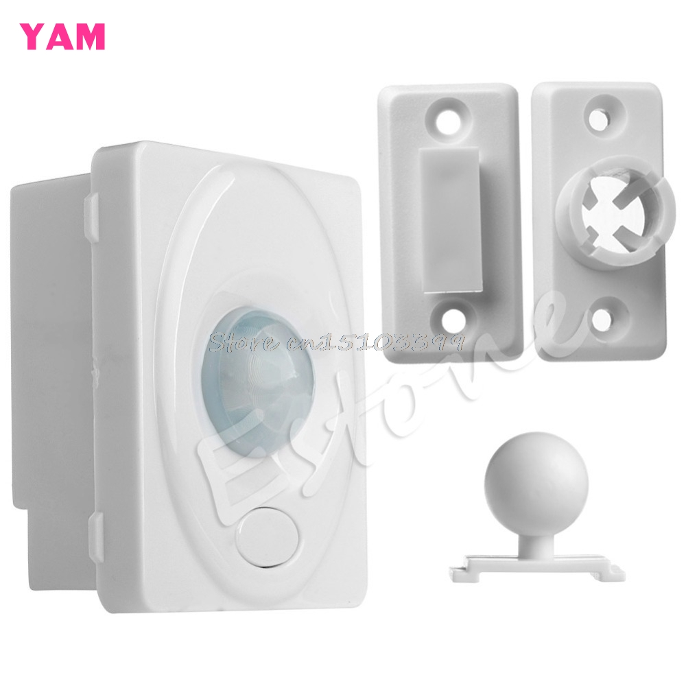 Save Energy IR Infrared Motion Sensor Automatic Lamp Light Control Switch DC 12V G08 Drop ship sensor automatic light lamp ir infrared motion control switch energy saving y103