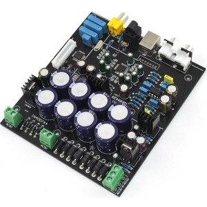 Image 4 - without USB daughter card AK4490 + AK4118 + op amp NE5532 decodificador Soft control DAC audio decoder board D3 003