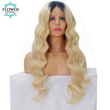 Wavy Blonde Wig Brazilian Remy Human Hair Lace Front Wig Sexy Hair Color 12-24 Inches available