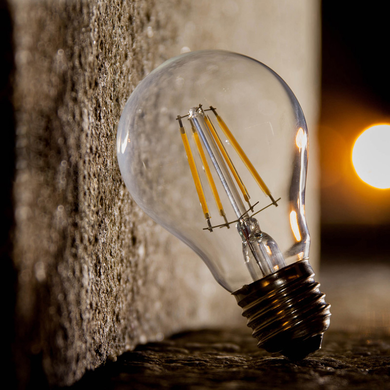 E27 E14 Antique LED Edison Bulb A60 G45 C35 220V Retro LED Filament Light Vintage LED Bulb Lamp 2W 4W 6W 8W Candle Light Lamp стоимость