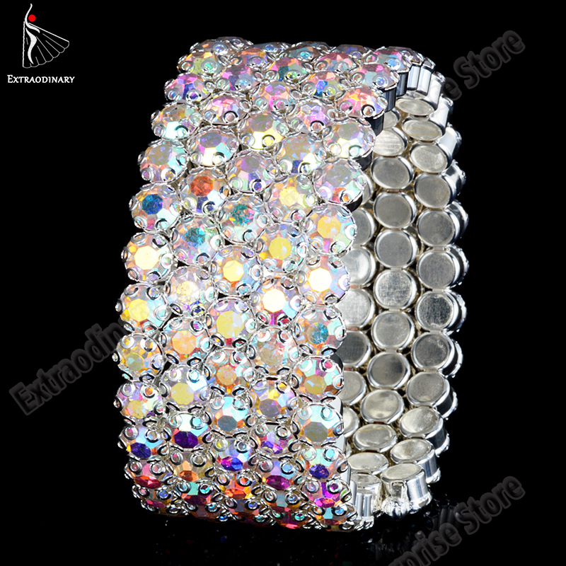 Belly Dance Accessories Women Arm Cuff Decoration Armband Bangle Spiral Upper Arm Bracelet Women Jewelry Party Barcelets