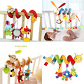 Baby Toys 0-12 Month Infant Stroller/Bed/Cot Crib Hanging Infant Kids Educational Cartoon Animal Pattern Rattles Toy