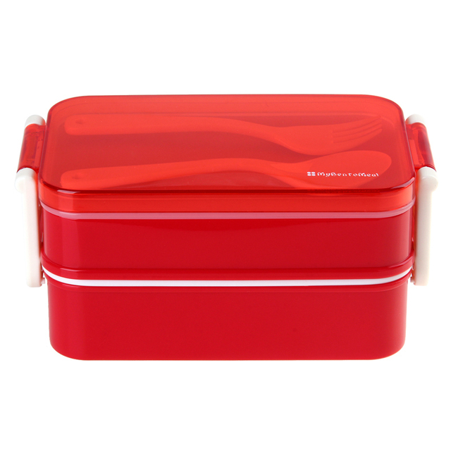 American style double bento lunch box can microwave bento boxes lunchbox Easy-Open cutlery tableware  sc 1 st  AliExpress.com & American style double bento lunch box can microwave bento boxes ... Aboutintivar.Com