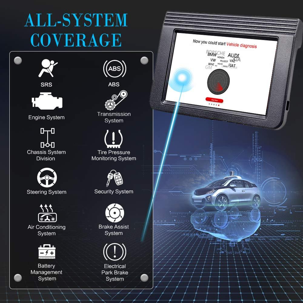 """Image 3 - Launch X431 V plus 10"""" X431 V+ OBD2 Diagnostic Scanner Automotive OBDII Auto Diagnostic Tool Car Bluetooth WIFI PK X431 pro3 PRO-in Engine Analyzer from Automobiles & Motorcycles"""