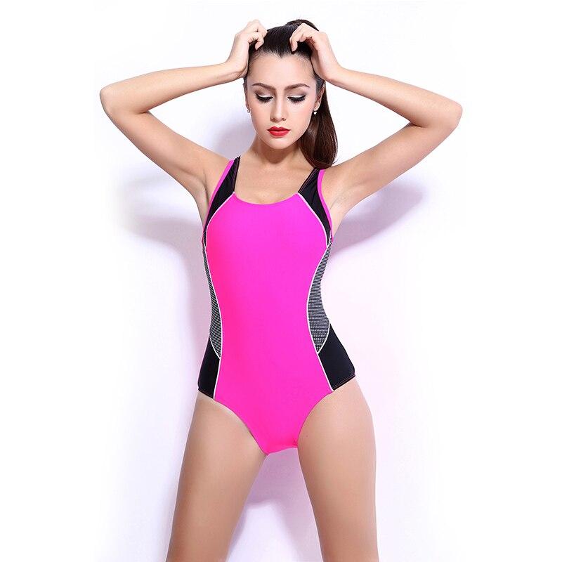 77b00afa Odchudzanie Sexy Kobiety One Piece Swimsuit Sport Szybkie Pranie ...