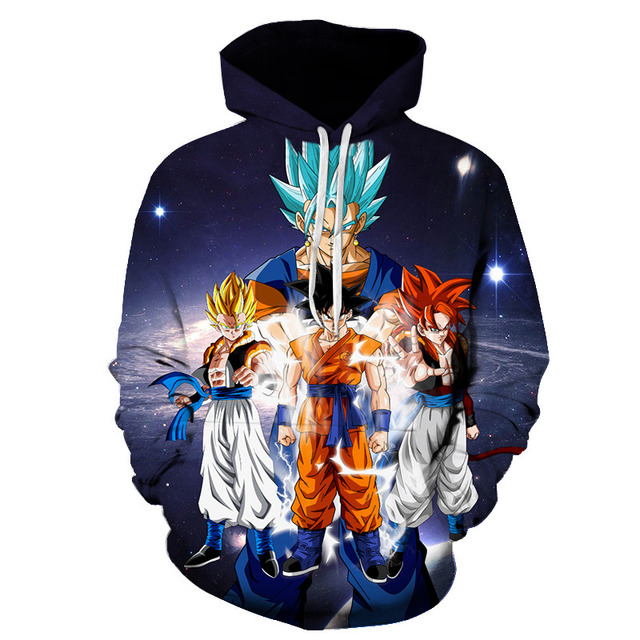 Dragon Ball  Z Hoodies Pullover Sweatshirt (16 Designs)
