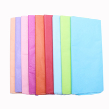10pcs/bag 50x66cm Tissue Paper Flower Clothing Shirt Shoes Gift Packaging Craft Roll Wine Wrapping Papers