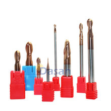 1pc Discount End Mills Ball 1mm 2mm 3mm 4mm Milling 2Flute Blade 2T HRC60 Tungsten Carbide Mill Cutter Ball Nose EndMills Tool 1pcs hss t slot mills cutting tools 18 x 3mm end mill shank dia 10mm endmills