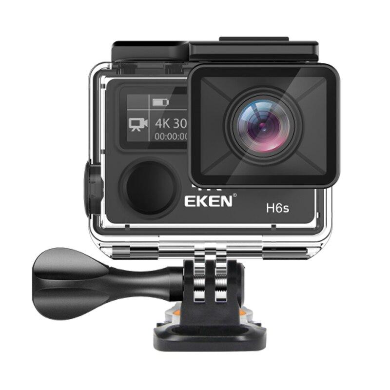 EKEN H6S A12 Ultra 4K 30FPS Wifi Экшн-камера 30 м Водонепроницаемая 1080p go chip EIS стабилизация изображения FHD 2K 14MP pro спортивная камера