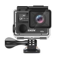 EKEN H6S A12 Ultra 4K 30FPS Wifi Action Camera 30M waterproof 1080p go chip EIS Image Stabilization FHD 2K 14MP pro sport cam