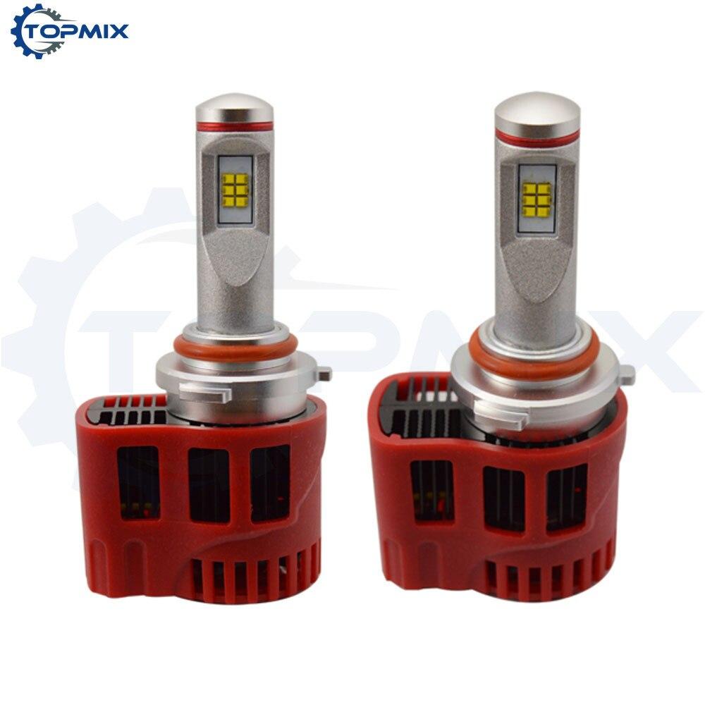 1 Set Super Bright 9006 HB4 90W 9000LM ZES Led Car Headlight Conversion Kit Canbus LED Fog Lamp Bulbs DRL 6000K/5000K super bright h7 p7 led car headlight conversion kit fog lamp bulb drl 60w 9000lm 6000k 10v 30v dc wholesale d20