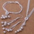 AS271 Hot 925 Joyas de plata Pulsera de los Sistemas 011 + 494 + Collar Pendiente 324/argajina aktajcaa