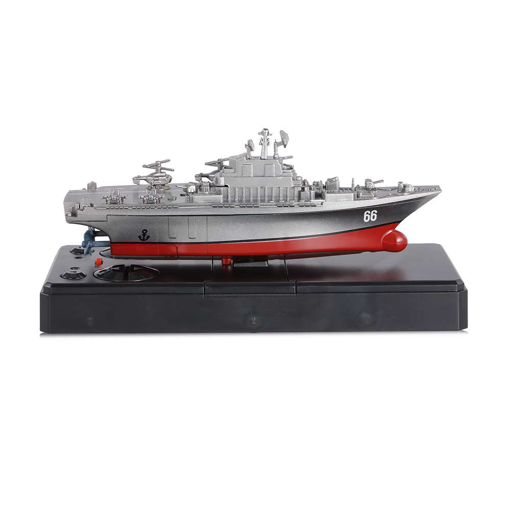 Remote Control Toys RC Boat Sea Star 3319 2.4GHz All Direction Navigate Mini Radio Control Electric Aircraft Carrier Model RTR (18)