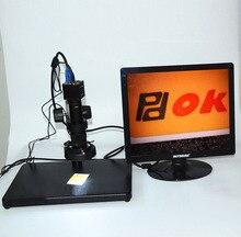 Sale HD 3MP Zoom Video Microscope LED Illuminant VGA Industrial Camera with 17″ Display Screen