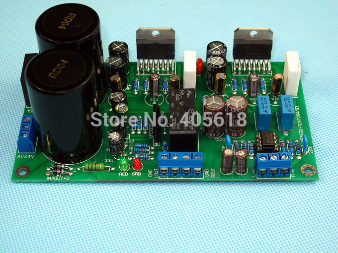 NE5532 TDA 7294 power amplifier board with protective circuit stereo power amplifier board Assembled