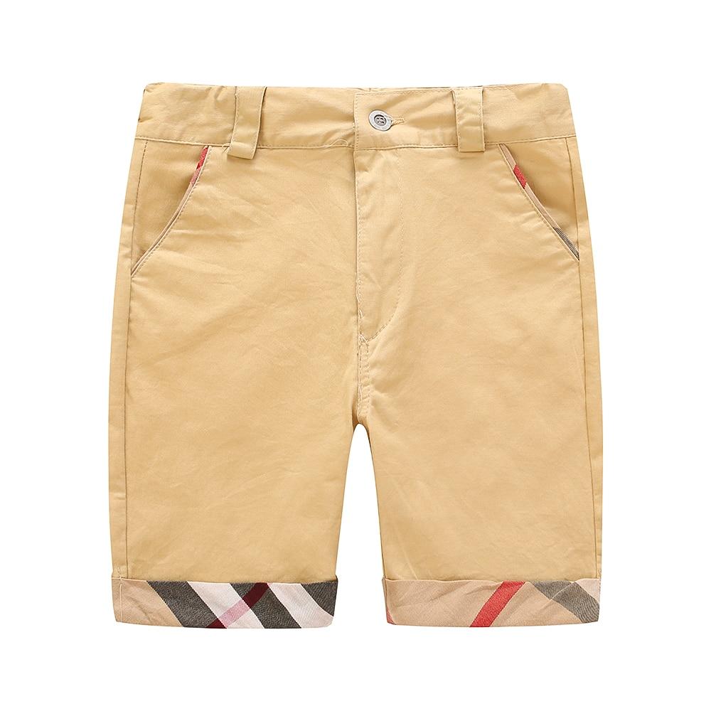 2-7 Years Boys   Shorts   Classical Plaid London Brand Design Adjustable   Shorts   2018 Fashion Design   Shorts   for Kids Clothing