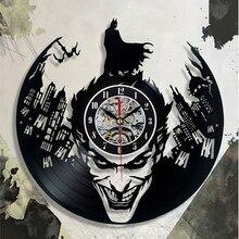 Super Cool Hot Vinyl Record Concept Wall Clock Theme CD Vinyl Clocks  Horloge Murale Decorative Modern design