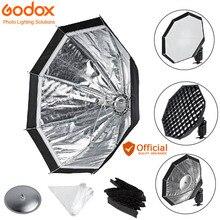 Godox AD-S7 Многофункциональный софтбокс восьмиугольная сотовая сетчатый Зонт Softbox для вспышки Godox WITSTRO Flash AD180 AD360 AD360II