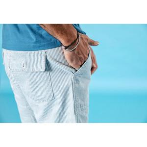 Image 5 - Мужские шорты карго SIMWOOD, повседневные высококачественные джинсы в Вертикальную Полоску из 100% хлопка, 190005