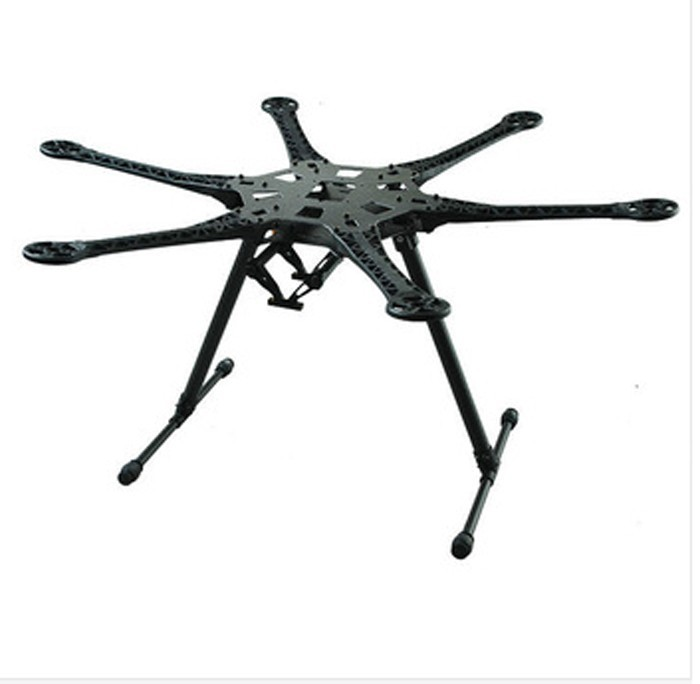 JMT DIY Drone Quadcopter Upgraded Full Kit HMF S550 9045 3-Propeller 6 axle Multitor Hexacopter RTF/ARF with 6ch TX / RX
