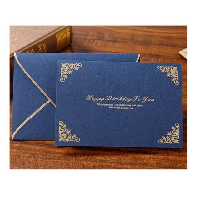 Customized Birthday Card Gilt Invitation Card Mother Plot Card Staff