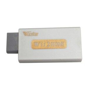 Image 4 - Wiistar Wii zu HDMI Wii2HDMI Adapter Konverter Volle HD 1080 P Ausgang Upscaling 3,5mm Audio Video Ausgang Weiß Heißer verkauf