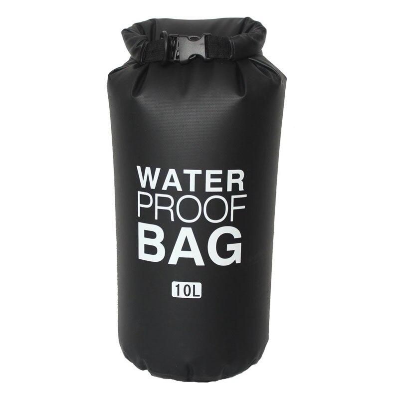 10L 20L Outdoor PVC Waterproof Bag Dry Bag Beach Swimming Rafting Sport Kayaking Canoeing Bag Travel Camping Sack Storage Bags