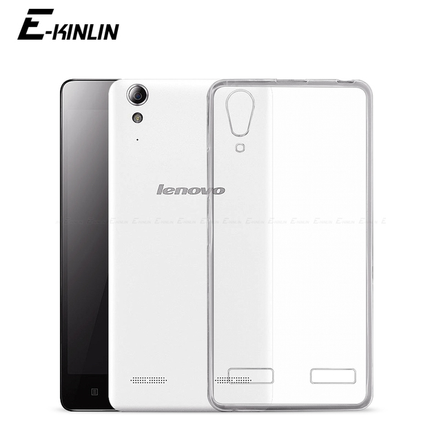 Transparent Ultra Slim Clear Silicone Case For Lenovo A7000 A6010 A6000 Plus Back Soft TPU Protection