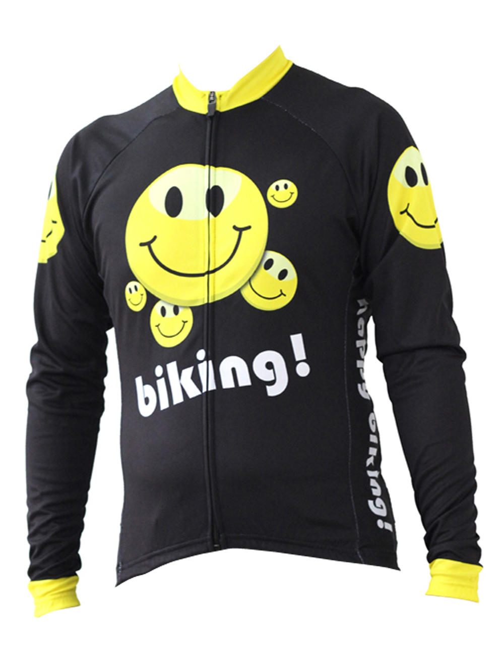 Smile Biking Cycling shirt bike equipment Mens Long Sleeve Cycling Jersey Cycling Clothing Bike Shirt Size 2XS To 6XL ILPALADIN new 17 black red spider mens breathable bike clothing polyester autumn long sleeve cycling jerseys size 2xs to 6xl